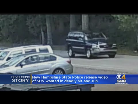 NH Police Release Video Of SUV Wanted In Fatal Hit & Run