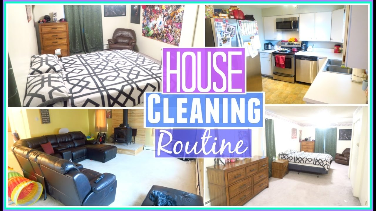 Kitchen Room Bedroom My Weekly House Cleaning Routine Speed Cleaning Bathroom Bedroom