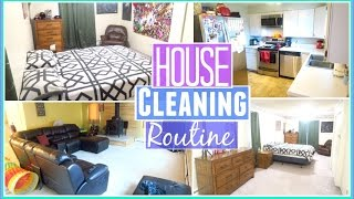 MY WEEKLY HOUSE CLEANING ROUTINE!|Speed Cleaning| Bathroom,Bedroom,Kitchen,Living Room & Dining Room