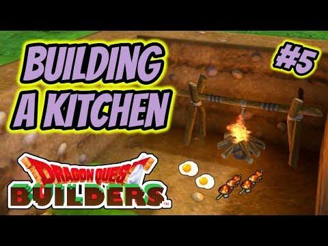 Dragon Quest Builders | Playthrough #5 - Building A Kitchen