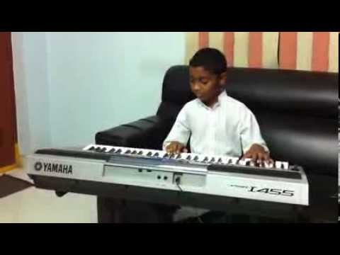 Aashiqui Song By Harshith On Keyboard
