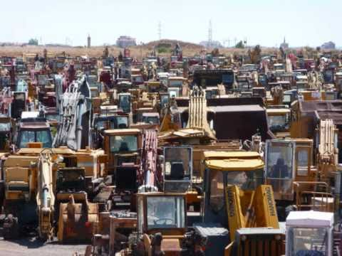 THOUSANDS OF  EXCAVATORS!!!!  In One Place!!