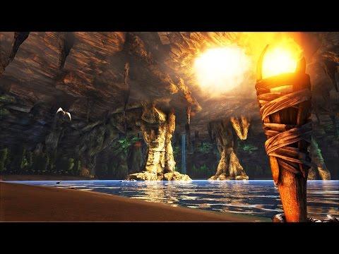 SECRET UNDERGROUND WORLD! - ARK: Survival Evolved Ep #7