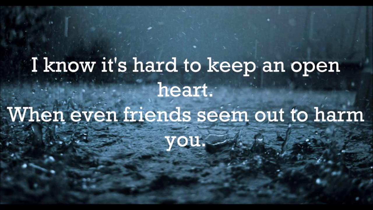 November Rain By Guns n' Roses (Lyrics) - YouTube