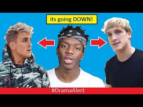 KSI Reacts to Logan Paul & Jake Paul! #DramaAlert RiceGum FUNNY! Alissa Violet the TROLL!