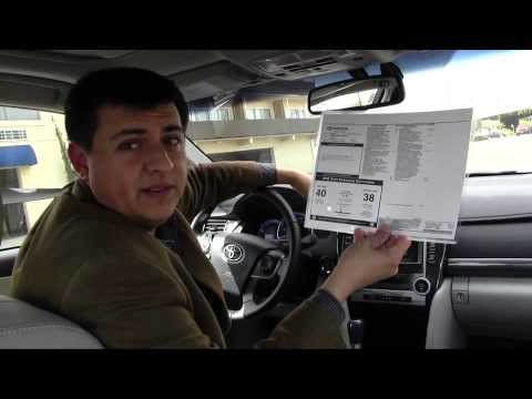 2012-2014 Toyota Camry Hybrid Review and Road Test