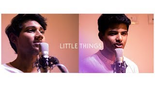 ONE DIRECTION - LITTLE THINGS| COVER BY ALISTER ROMALD FT. RAHUL SENGUPTA