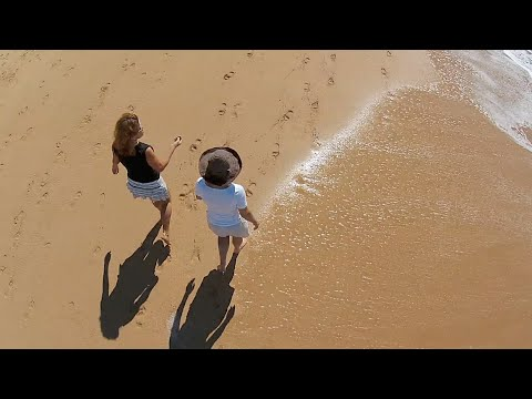 Flying High on Dee Why Beach