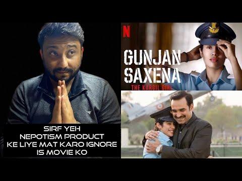 Gunjan Saxena The Kargil Girl Movie Review Shahrukh Dongre Netflix Youtube