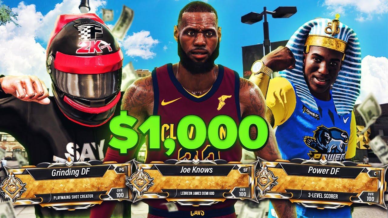 Last Person To Miss WINS $1000...Ft JoeKnows, Power DF + Grinding DF!! Best Builds NBA 2K20