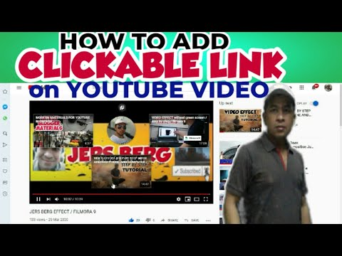 How To Add Clickable Link On Youtube Video Jers Berg Youtube