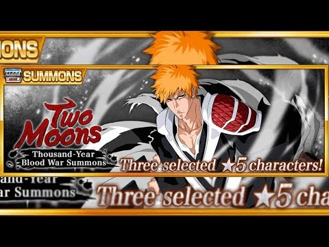Bleach Brave Souls: A Busca DELE!!! Summons Two Moons!!! #IchigoTwoMoons - Omega Play