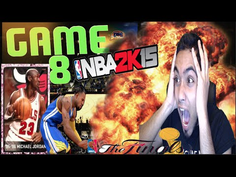NBA 2k15 PS4 MyTEAM Finals FaceCam! Game 8 | PINK DIAMOND JORDAN HAS ARRIVED! THE RETURN!
