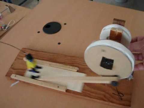 Maquina simple doovi for Mecanismos de estores caseros