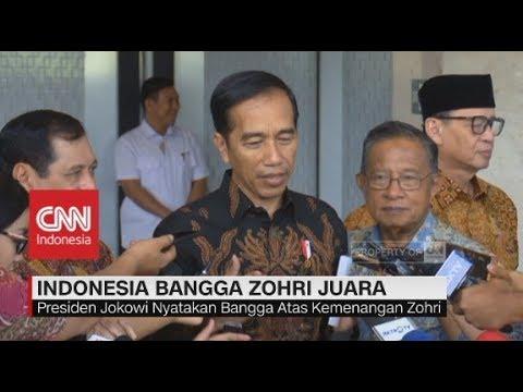 Cover Lagu Presiden Jokowi & Indonesia Bangga!  Lalu Zohri Juara Dunia Lari 100 Meter HITSLAGU