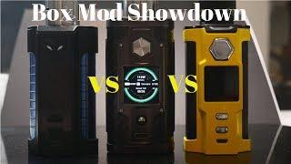 Sigelei MT 220 VS Snowwolf V Feng VS SX Mini G Class Box Mod Showdown