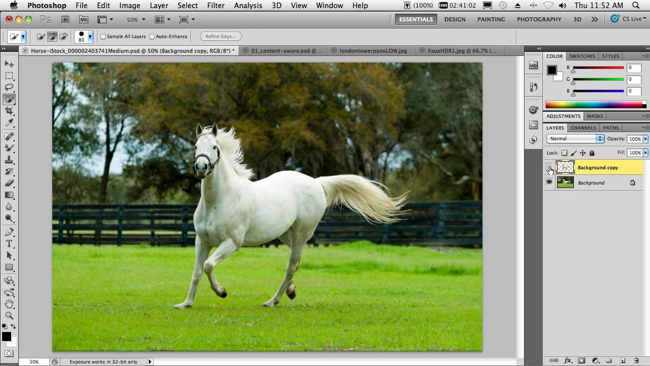 how to make a window stay on top photoshop
