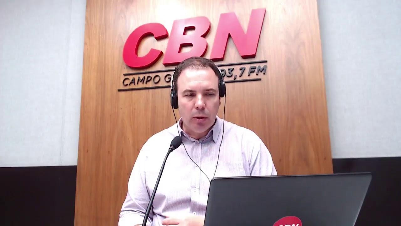 CBN Campo Grande (02/12/2020) - com Ginez Cesar