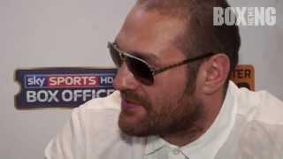 Tyson Fury Vs David Haye: If David Haye lands first I'm gone