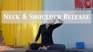 Yin yoga for neck and shoulder release