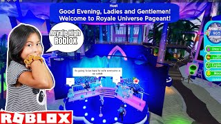 Royale High Sunset Island | Welcome to Royale Universe Pageant | Roblox Gaming Channel
