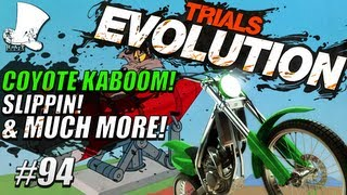 Trials Evolution #94 - Coyote KaBOOM! Slippin! Invisible & Much Much More!