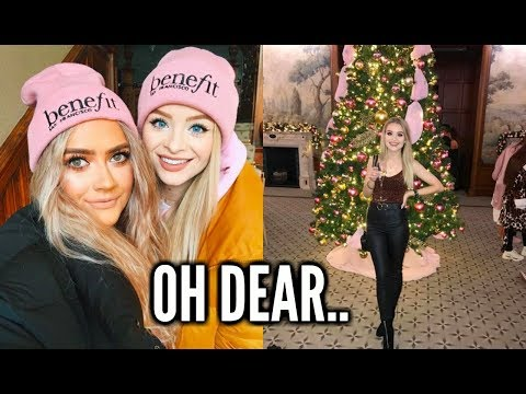YOUTUBER CHRISTMAS GETAWAY IN THE COUNTRYSIDE.. THIS GOT INTERESTING | sophdoesvlogs