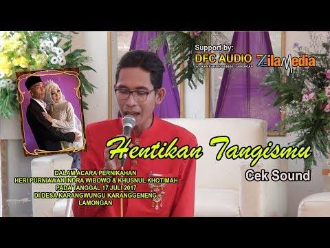 CEK SOUND 2  - HENTIKAN TANGISMU [Cipt. CACA HANDIKA] - ADELA