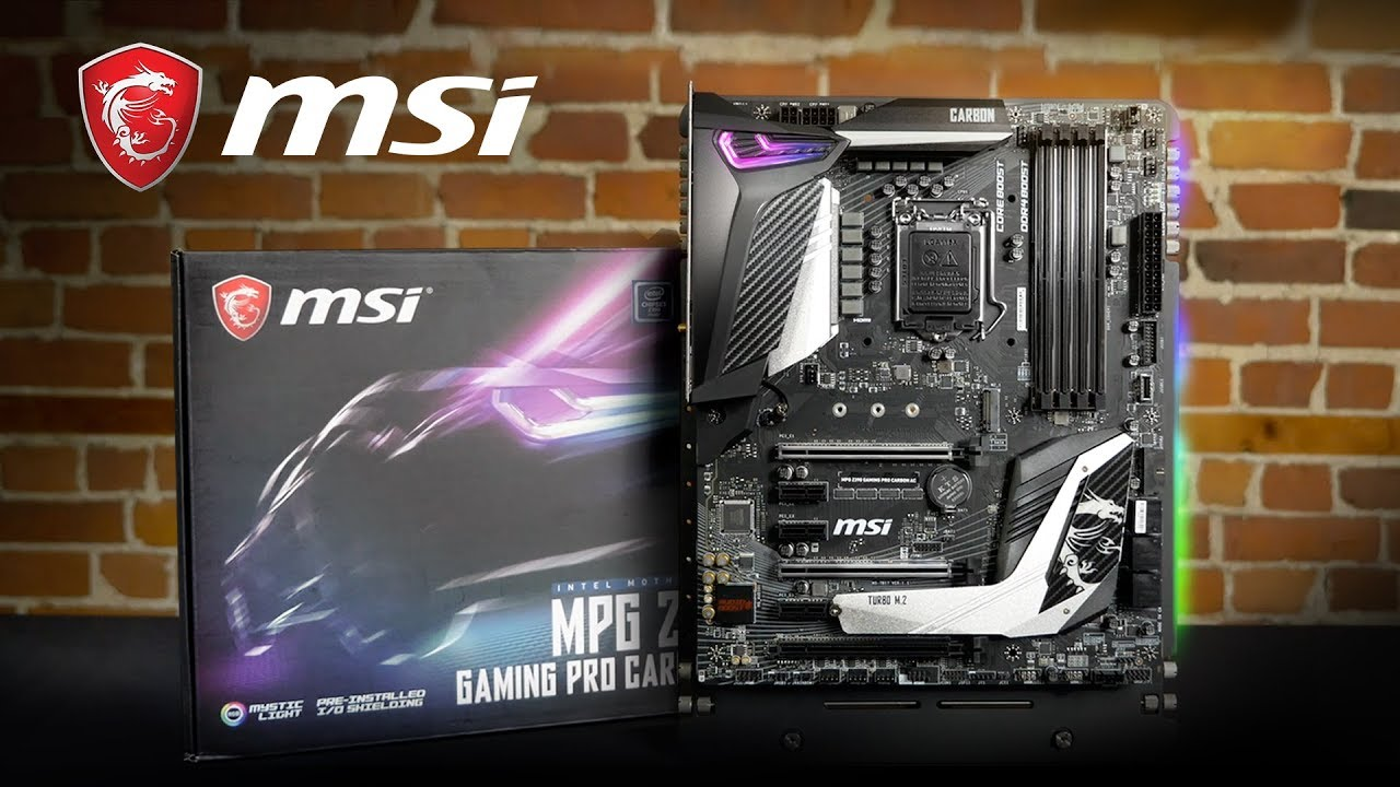 MSI Pro Cast#24 -Unboxing MPG Z390 GAMING PRO CARBON | Gaming Motherboard |  MSI