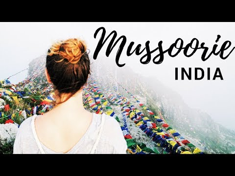 MUSSOORIE hill station and nature porn || REBORN IN INDIA TRAVEL VLOG