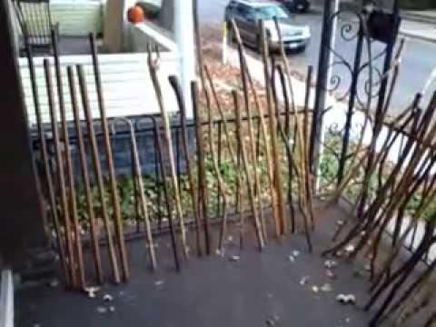 Diy 50th Handmade Walking Stick Making Hiking Sticks