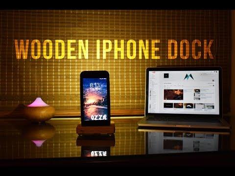 DIY: Wooden iPhone Dock