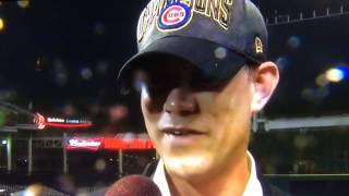 Chicago Cubs Theo Epstein 2016 World Series F-Bomb Interview