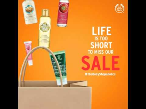 The Body Shop End Of Season Sale