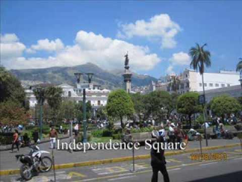 Tourism in Beautiful Quito Ecuador!