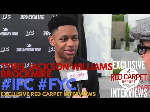 Tyrel Jackson Williams ed at IFC's FYC Panel for Documentary Now and Brockmire