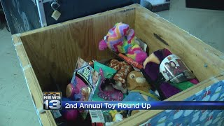 Toy Round Up collects toys for local kids in need