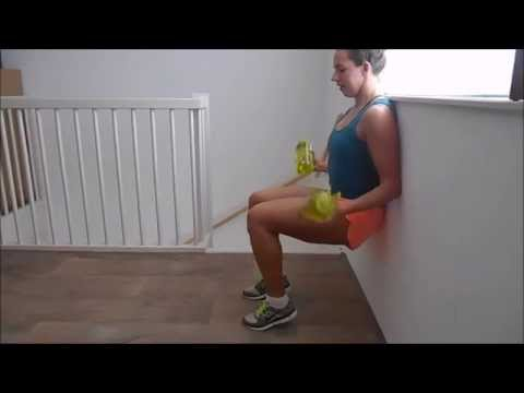 Wall Sit – Challenging variations