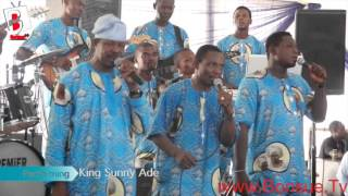 King Sunny Ade at Late Chief MRS HID AWOLOWOS final Burial Ceremony