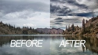How to Recover Details from Sky Photoshop