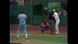 Pete Rose - 4000 Hits - 1984 CBC-TV Montreal Expos broadcast