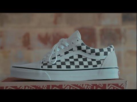 Vans Checkerboard Old Skool White/Black
