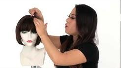 H-280 Wig by Vivica Fox   Human Hair Wig for Black Women
