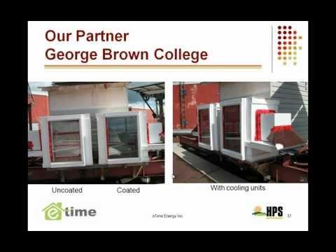 Green Technology Webinar Series - Etime Energy - Sept 20, 2012