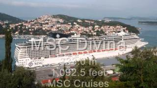 Top 10 Biggest Cruise Ships In The World 2013