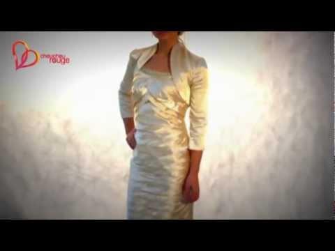 Коктейльное платье с болеро от chouchourouge
