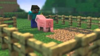 Minecraft Animation - The Piggy :)