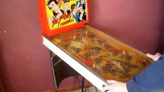 The Fonz Happy Days 1976 Coleco Pinball Game.AVI