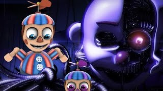 BB REACTS TO: Broken Animatronic || BB MAKES A NEW FRIEND