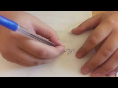 Как исправить почерк за 10 минут👍👬🤗
